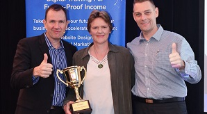 eBusiness Institute Australia founders award for excellence